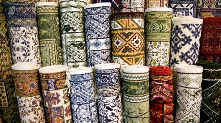 توقف صادرات فرش ایرانی